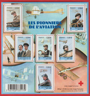 "LOT 40 France : Bloc ""Les Pionniers De L'aviation"" N° F4504 NEUF** LUXE . MNH - - Nuevos"