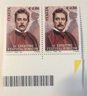 2004 - Italia - 50° Edizione Festival Puccini . E. 0,60 - 2001-10:  Nuovi