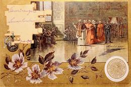 Cartolina - S. Santita Negli Appartamenti Borgia - 1902 - Ohne Zuordnung