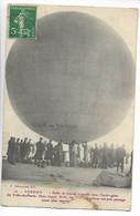 VERDUN Meuse Aviation Ballon BULLE DE SAVON Gonflé à L'hydrogène Du Ville De Paris  .....G - Verdun