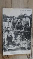 VILLENEUVE SAINT GERMAIN : Mitrailleuse, Les Servants Aux Dunes ................ 210124-1135 - Oorlog 1914-18