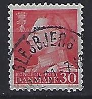 Denmark  1961-62   Frederik IX  (o) Mi.391x (cancelled GLEJBJERG) - Used Stamps