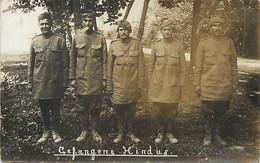 Themes Div-ref GG25-militaires Militaria -guerre 1914-18 Carte Photo -photo Postcard -inde-hindous -hindu -sikhs-hindus - Guerra 1914-18