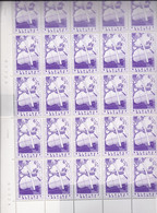 1149 - XX - PONT AERIEN BELGIQUE CONGO - Feulle Complete De 30 Timbres--au Minimum 8 Varietes Dont COB V1-COTE 157.00 € - Ganze Bögen
