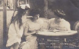 GRAND-DUCHE DU LUXEMBOURG - PRINCESSES - RARE CARTE-PHOTO 1913. - Luxemburg - Stad