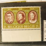 Belgique Belgie Variété / Varieteit 1306 V 1 V2 V4 Mnh Neuf ** ( Année / Jaar 1964 ) - Abarten (Katalog COB)