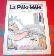 Le Pêle Mêle N°45 Novembre 1917 Privilégié Par O'Galop Dessins Valverane Benjamin Rabier - 1900 - 1949