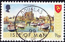Isle Of Man - Hafen Von Castletown (MiNr: 12) 1973 - Gest Used Obl - Isla De Man