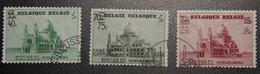 BEL 1938 / 481/3 / ° / 8€ : Basilique Koekelberg Basiliek - Used Stamps