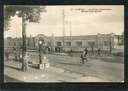 CPA - LE MANS - Les Usines Automobiles Moriss Léon Bollée, Animé - Sortie Des Ouvriers - Le Mans