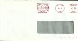 Lettre Enveloppe Ema Visitez Les Caves De La Chartreuse Metier Boissons Agriculture Viticulture 38 Voiron    B /934 - Vins & Alcools