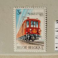 Belgique Belgie Variété / Varieteit 1488 V 1 Mnh Neuf ** ( Année / Jaar 1969 ) Train Trein - Abarten (Katalog COB)