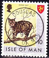 Isle Of Man - Manxkatze (MiNr: 24) 1973 - Gest Used Obl - Isla De Man