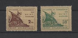 FRANCE. YT  Guerres  N° 8/9  (FAUX) Neuf Sans Gomme  1945 - Guerras