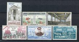 Monaco 1960. Yvert 526-31 ** MNH. - Unused Stamps