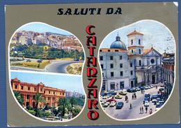 °°° Cartolina - Saluti Da Catanzaro Vedute Viaggiata (l) °°° - Catanzaro