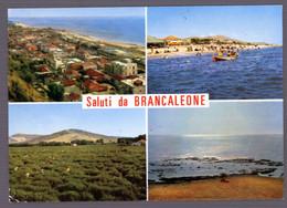 °°° Cartolina - Saluti Da Brancaleone Vedute Viaggiata (l) °°° - Reggio Calabria