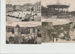 LOT De 1000 Cartes Anciennes ( Dites Petites Cartes ) - 500 Postcards Min.