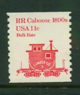 USA Scott # 1905  1984  American Transportation - 11c Caboose   Coil   Mint Never Hinged  (MNH) - Nuevos