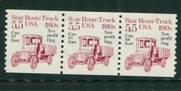 USA Scott # 2125a 1986  American Transportation - 5.5¢Star Route Truck Bureau Precancelled  Mint Never Hinged  (MNH) - Nuevos