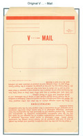 Persia - Persien - Iran - Middle East 1943;  Original V-Mail / Airgraph (Army Postal Service) - Irán