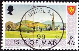 Isle Of Man - Kirche Von Tynwald Hill (MiNr: 52) 1975 - Gest Used Obl - Isola Di Man