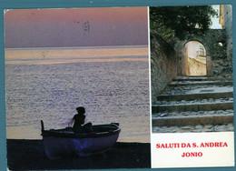 °°° Cartolina - Saluti Da S. Andrea Jonio Vedute Viaggiata (l) °°° - Catanzaro