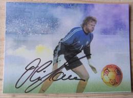 Olivier KAHN - Dédicace - Hand Signed - Autographe Authentique - Calcio