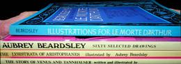 Vier Boeken Van En Over Aubrey Beardsley - Art