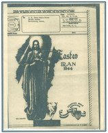 Persia - Persien - Iran - Middle East 1943;  Illustrated V-Mail (airgraph) From APO 523 (TEHRAN) To New York - Irán