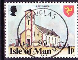Isle Of Man - Kirche Von Jurby (MiNr: 106) 1978 - Gest Used Obl - Isla De Man