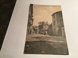 84 MALEMORT - Rue Aux Muriers Carte Animée Homme Voitures Anciennes - Other Municipalities