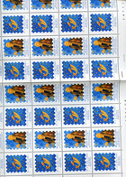 Belgie 2000 2901 Belgica 2001 Tour & Tassis MNH FULL SHEET Plaatnummer 0 - Ganze Bögen