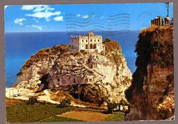 °°° Cartolina - Tropea L'isola Viaggiata (l) °°° - Catanzaro