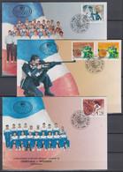 Yougoslavie Yugoslavia 3 FDC Medals JO Atlanta 1996 - Estate 1996: Atlanta