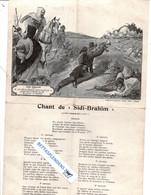 """CHANT De SIDI-BRAHIM - """"Le Clairon Roland Sonne La Charge Quand Abd El Kader Jui Dit De Sonner La Retraite"""" - Andere"""
