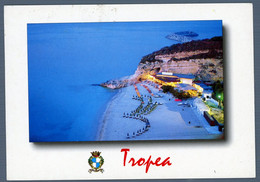 °°° Cartolina - Tropea Le Spiaggie E Il Porto Viaggiata (l) °°° - Catanzaro