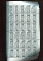 Belgie 1993 2512 La Hulpe Tourisme FULL SHEET MNH Plaatnummer 4 - Ganze Bögen