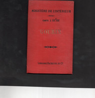 GOURIN - Ministère De L'Intérieur - Carte De GOURIN à 1/100.000 - Topographische Karten