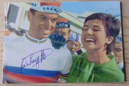 Rick VAN LOOY - Dédicace - Hand Signed - Autographe Authentique - Ciclismo