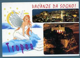 °°° Cartolina - Tropea Vedute Viaggiata (l) °°° - Catanzaro