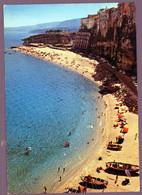 °°° Cartolina - Tropea La Spiaggia Viaggiata (l) °°° - Catanzaro