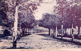 Cartolina - Bagni Di Montecatini - Parco Delle Regie Nuove Terme - 1921 - Pistoia