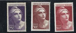 Yvert 731 - 732 Et 733 Neuf Sans Charniere Marianne  De Gandon - Unclassified