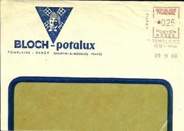 Lettre  EMA N  Bloch Potalux  Alimentation Meunier Moulin Metier Usine  54 Tromblaine    A 50/23 - Alimentación