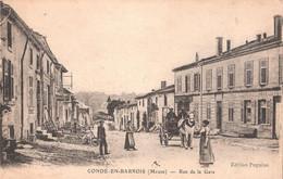 Condè En Barrois - Rue De La Gare - Otros Municipios