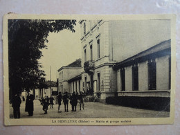 CPA 69 TASSIN LA DEMI LUNE Mairie Et Groupe Scolaire - Otros Municipios