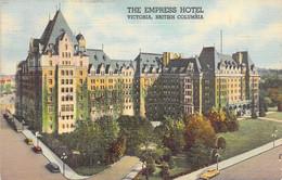 The Empress Hotel Victoria,British Columbia 1941 - Victoria