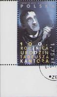 2015 Poland Mi 4758 Tadeusz Kantor Reformer Painter Director Stage Designer Artist Cancelled P01 - Usati