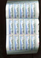 Belgie 1993 F2495 2495 Antwerpen Port Panorama FULL SHEET MNH Plaatnummer 2 - Ganze Bögen